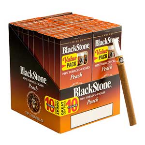 Blackstone Peach Tip Cigars 20 5PKS