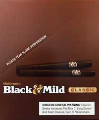Middletons Black and Mild Cigarillo Classic 25Ct Box