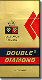 Double Diamond Full Flavor 100 Box Little Cigar