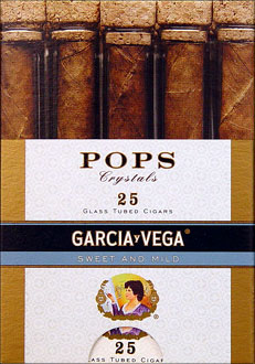 Garcia Vega Pops Crystals Sweet and Mild 25ct Box
