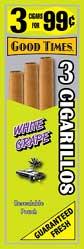 Good Times Cigarillos White Grape 45ct