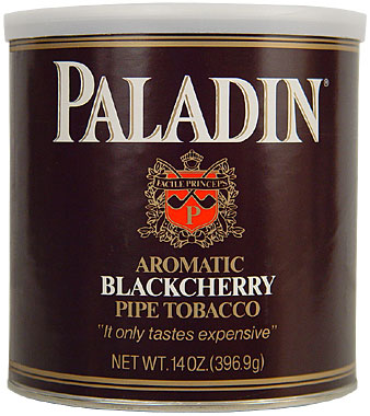 Paladin Black Cherry Pipe Tobacco 12oz Can